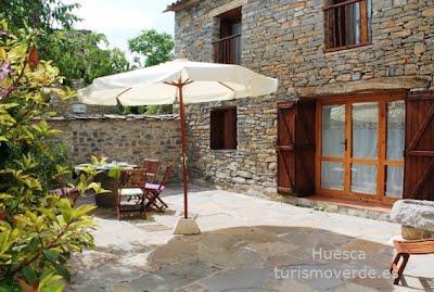 TURISMO VERDE HUESCA. El Corral de Villacampa